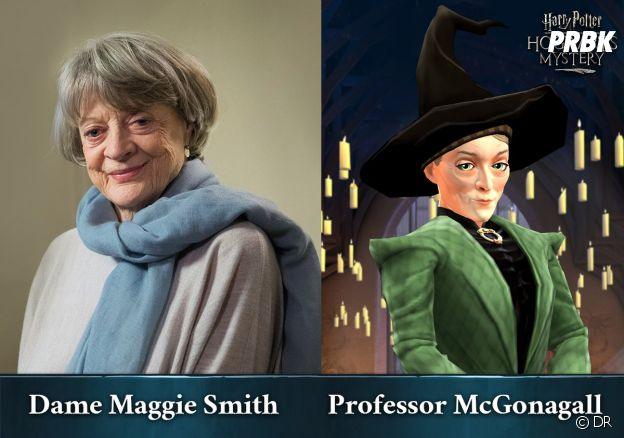 Hogwarts Mystery : Maggie Smith revient dans le rôle du Professeur McGonagall
