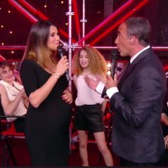 Karine Ferri enceinte dans The Voice 7 : les téléspectateurs ravis par son baby bump