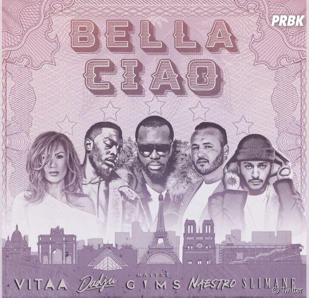 """""""Bella Ciao"""" : Maître Gims, Vitaa, Slimane et Dadju en mode La Casa de Papel"""