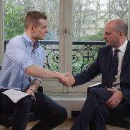 Gaspard G payé pour interviewer le ministre Jean-Michel Blanquer ? Son coup de gueule