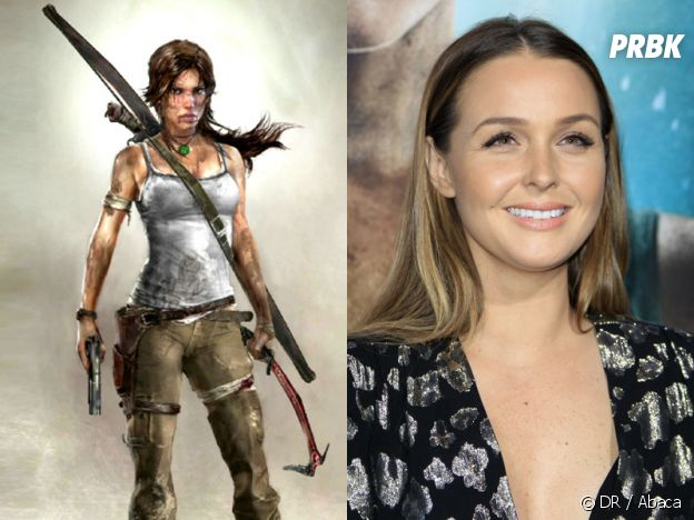 Camilla Luddington dans le jeu Rise of the Tomb Raider