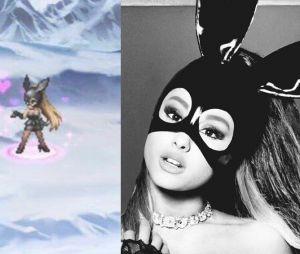 Ariana Grande dans le jeu Final Fantasy Brave Exvius