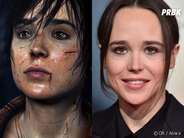 Ellen Page dans le jeu Beyond Two Souls