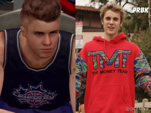 Justin Bieber dans le jeu NBA 2K13