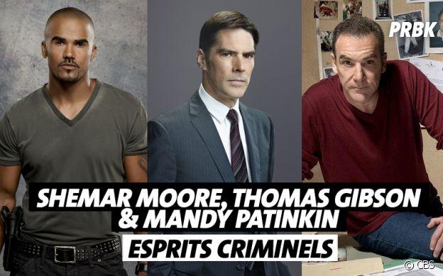 Les acteurs qui ont quitté Esprits Criminels