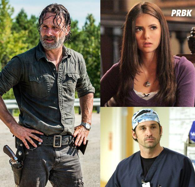 Andrew Lincoln, Nina Dobrev, Patrick Dempsey... ces acteurs qui ont quitté leur série