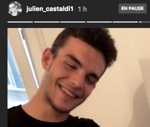 Julien Castaldi nous fait visiter son appartement sur Instagram