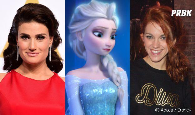 Les doubleuses d'Elsa dans La Reine des Neiges