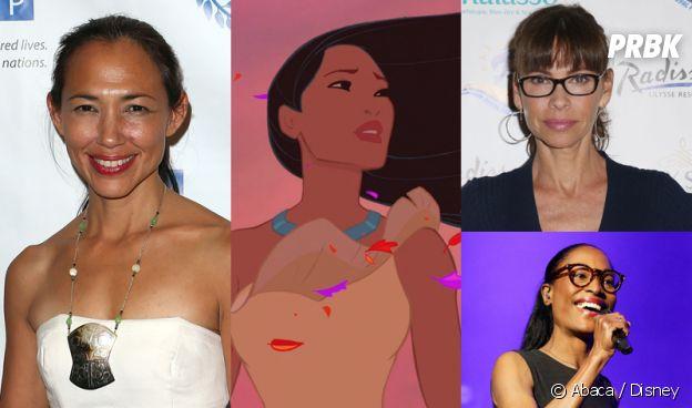 Les doubleuses de Pocahontas dans Pocahontas