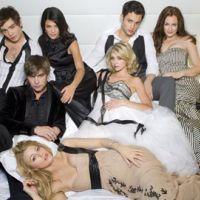 Gossip Girl saison 4 ... Un beau gosse vient réconforter les girls