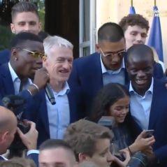 Paul Pogba : chanson de N'Golo Kanté, dab avec Macron, le joueur fait le show à l'Elysée