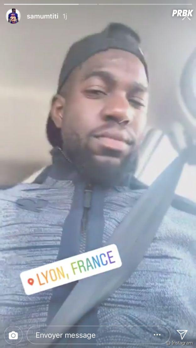 Samuel Umtiti profite de ses vacances à Lyon