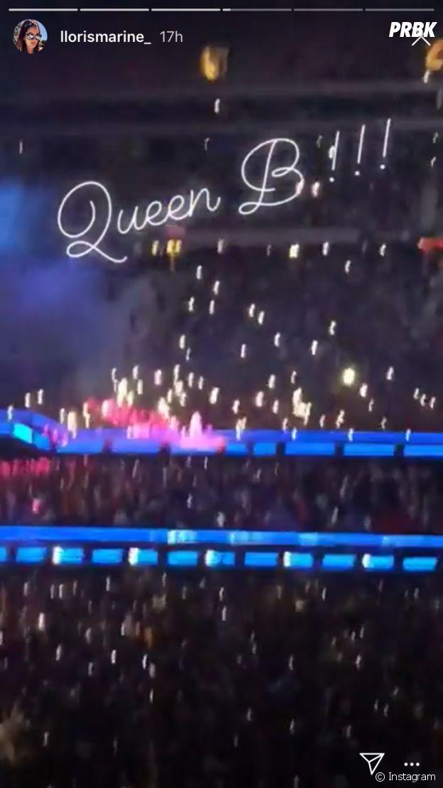 Hugo Lloris au concert de Beyoncé avec sa femme Marine