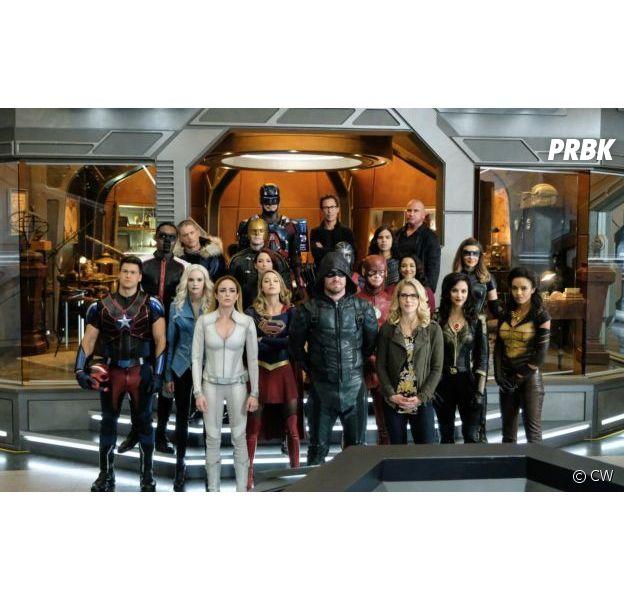 Legends of Tomorrow absente du futur crossover avec Arrow, Flash et Supergirl