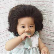 Un bébé de 7 mois fait le buzz avec sa chevelure improbable