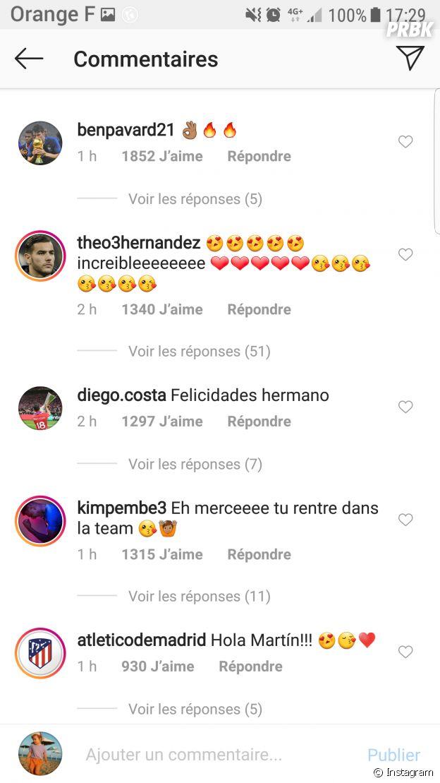 Lucas Hernandez papa pour la première fois, les Bleus le félicitent