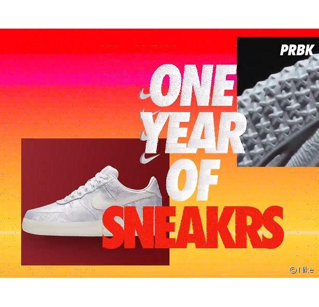 Nike fête les un an de son App SNEAKRS le 8 août 2018