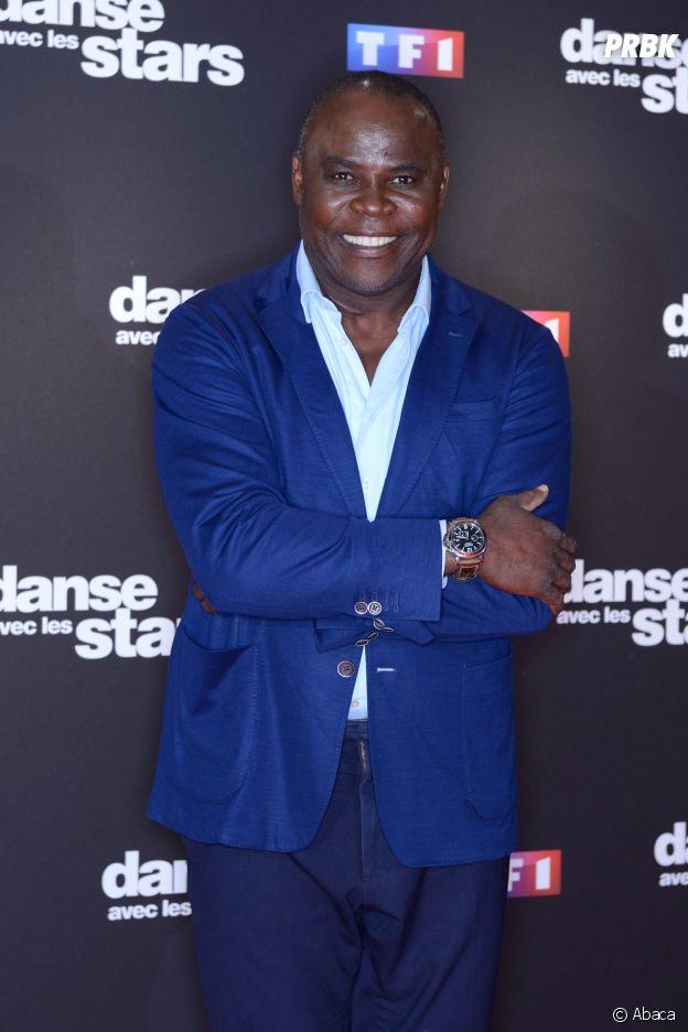 Basile Boli au casting de Danse avec les stars 9.