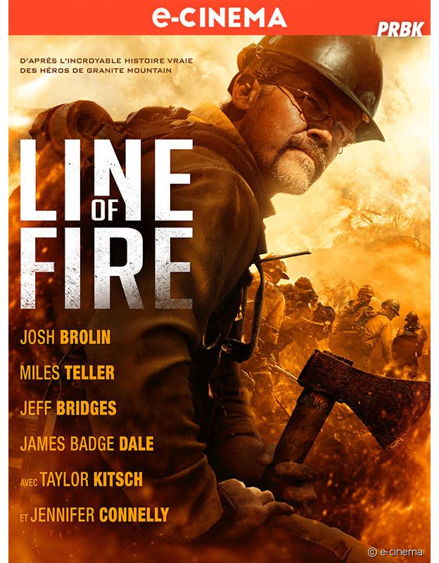 Line Of Fire l'affiche.