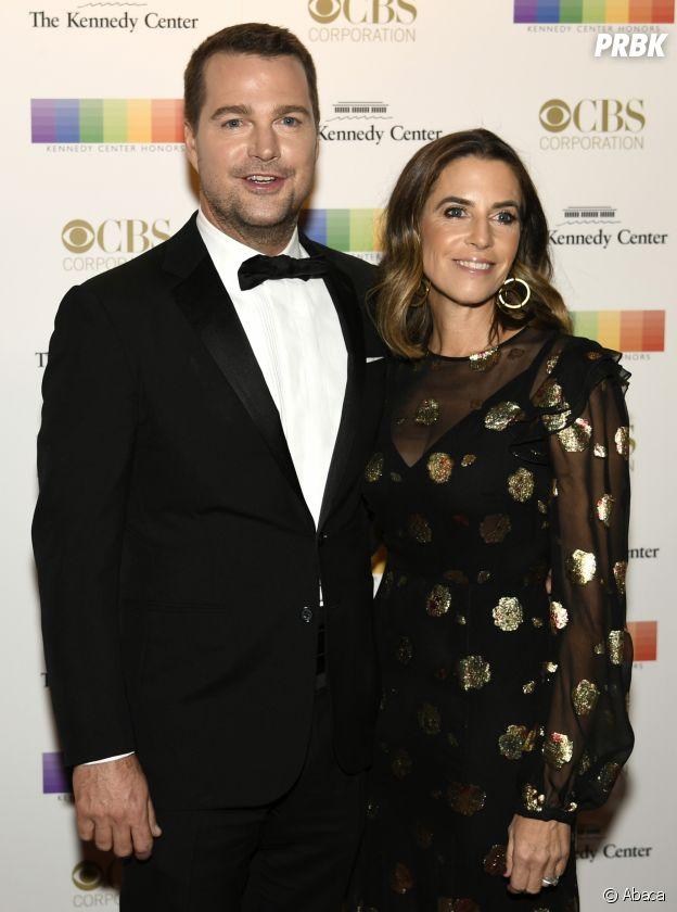 Chris O'Donnell et sa femme Caroline Fentress