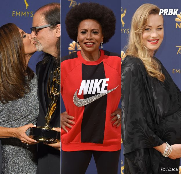 Une demande en mariage, un sweat Nike, le sexe d'un bébé dévoilé... Les buzz des Emmy Awards 2018