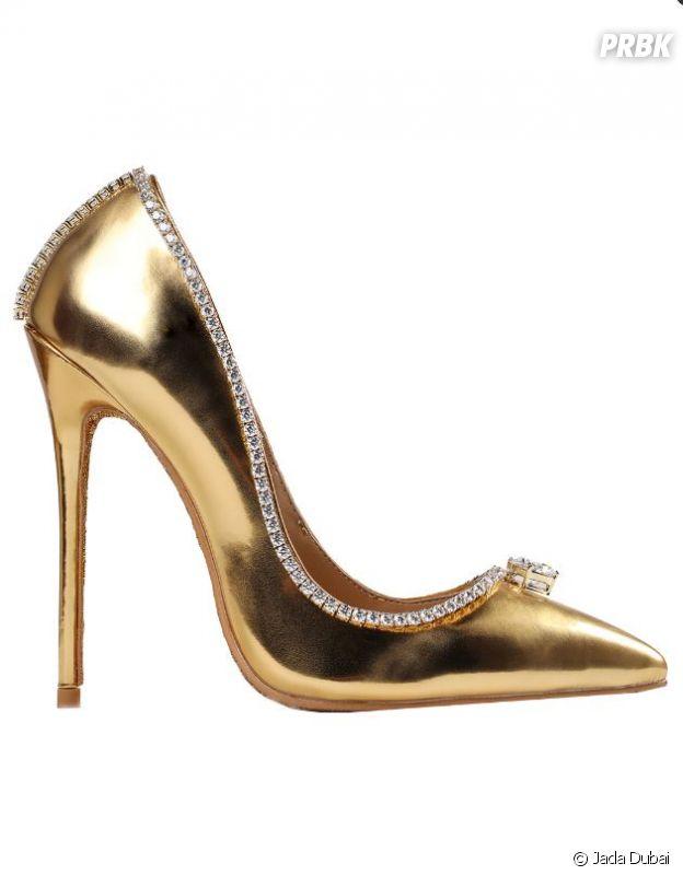 Ces chaussures à 17 millions de dollars sont les plus chères du monde.