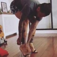 Dani Alves (PSG) est aussi à l'aise avec des talons aiguilles qu'avec des crampons ⚽👠