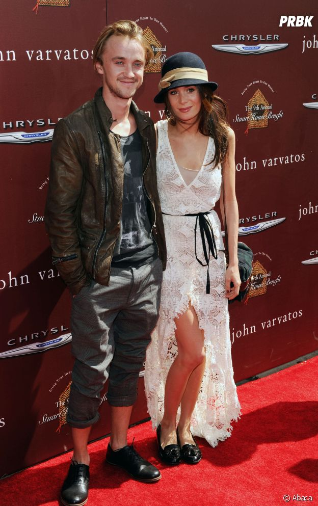 Tom Felton et son ex Jade Gordon Olivia