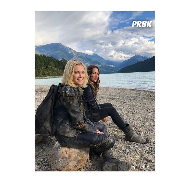 The 100 saison 6 : Clarke, Bellamy et les autres de retour sur Terre dans les premières photos