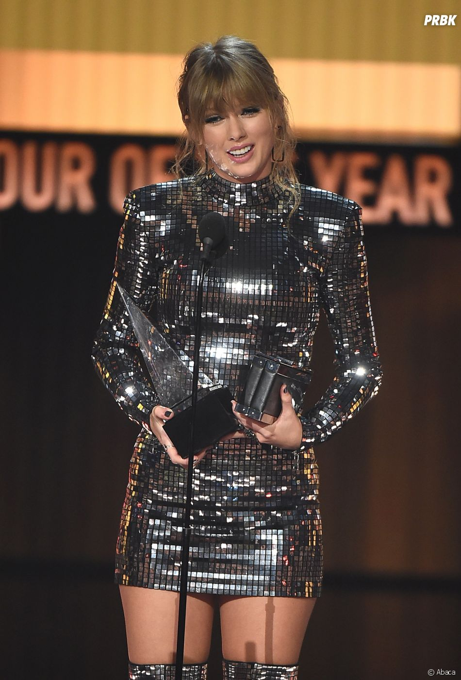 Taylor Swift gagnante aux American Music Awards 2018