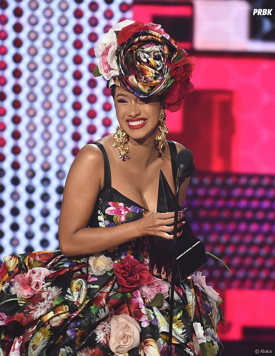 Cardi B gagnante aux American Music Awards 2018