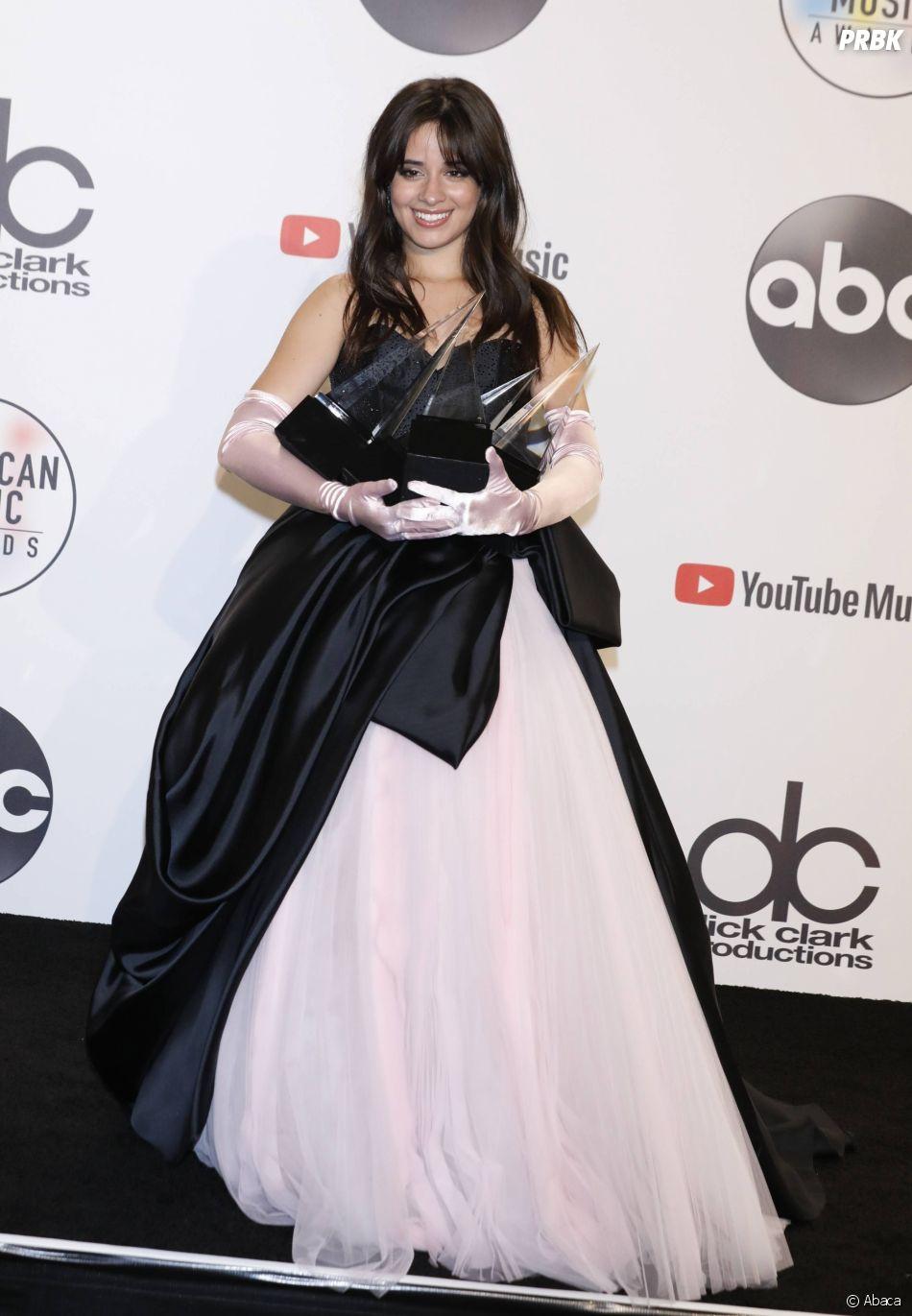 Camila Cabello gagnante aux American Music Awards 2018