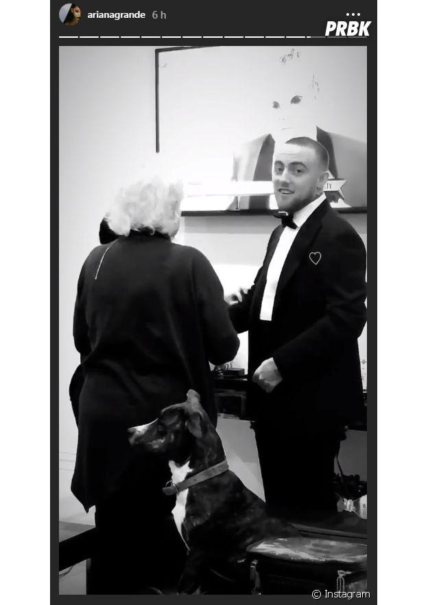 Ariana Grande rend hommage à Mac Miller