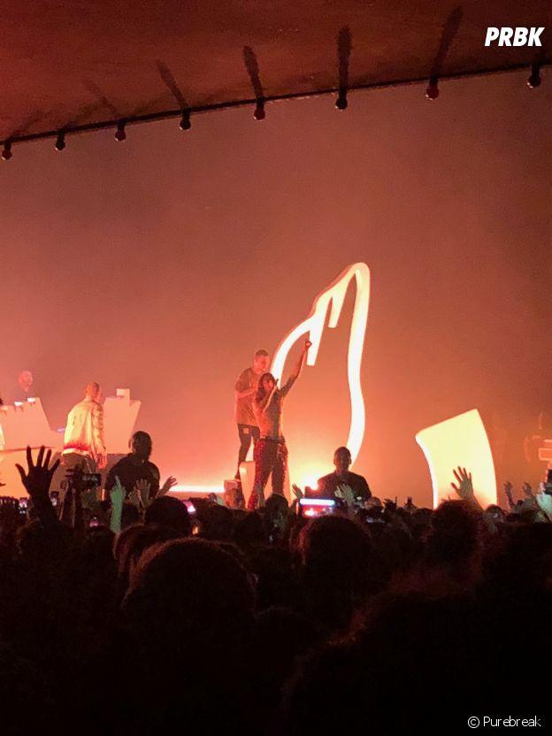 Columbine en concert à l'Olympia de Paris