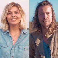 """Clip """"Midi sur novembre"""" : Louane et Julien Doré s'évadent en pleine nature 🌳"""