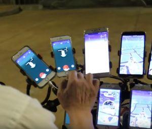 Pokémon Go : ce grand-père de 70 ans est un fan absolu du jeu et vous allez voir, il est équipé