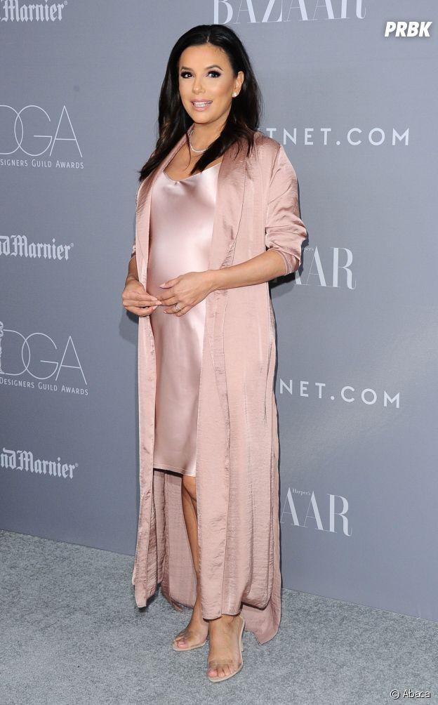 """Eva Longoria a craqué pour la tendance """"sleepwear""""."""