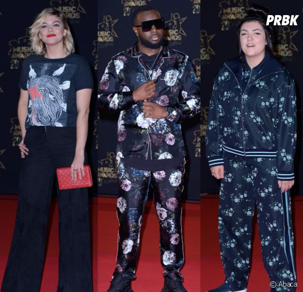 Louane, Maître Gims, Hoshi... Le pyjama, roi du red carpet des NRJ Music Awards 2018