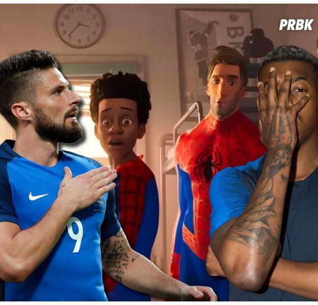 Spider-Man New Generation : les Champions du Monde Olivier Giroud et Presnel Kimpembe au casting