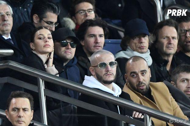 Leonardo DiCaprio et sa petite amie Camila Morrone, DJ Snake et Mick Jagger dans les tribunes du match PSG-Liverpool de la Ligue des champions.