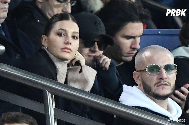 DJ Snake dans les tribunes du match PSG-Liverpool de la Ligue des champions.