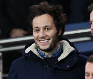 Vianney dans les tribunes du match PSG-Liverpool de la Ligue des champions.