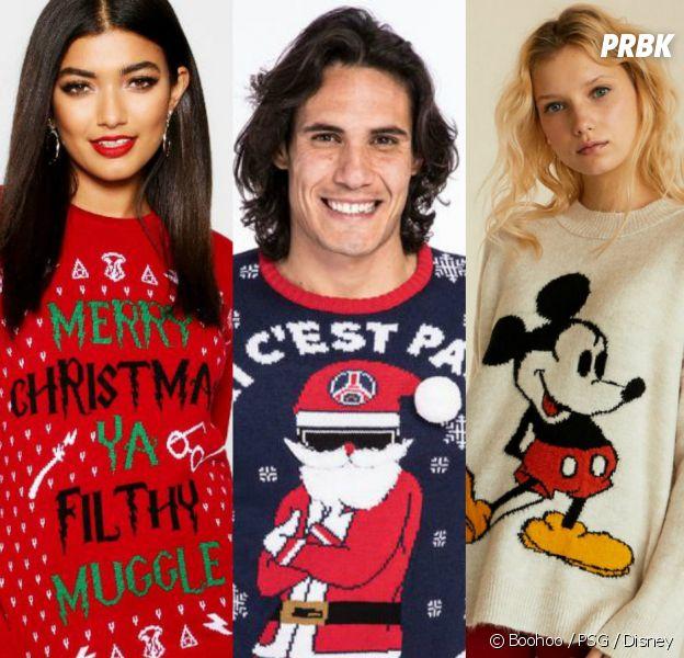 Harry Potter, le PSG, Disney... Les pulls de Noël stylés