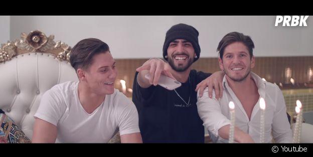 """Anthony Alcaraz invite Sébastien (Les Princes et les princesses de l'amour 2) et Bryan dans le clip """"On Me"""""""
