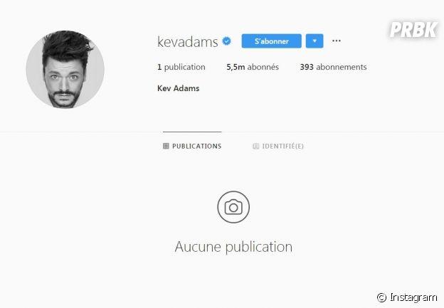 Kev Adams efface tout sur Instagram : coup de mou ou coup de pub ?