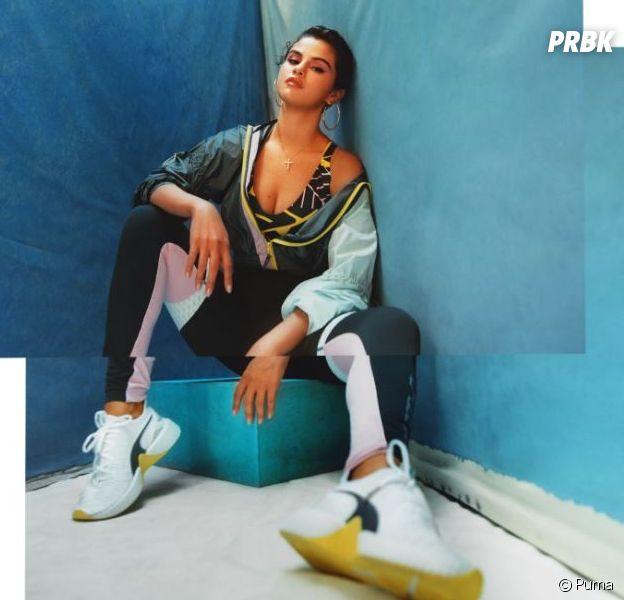 Selena Gomez en DEFY TZ pour Puma : des nouvelles sneakers