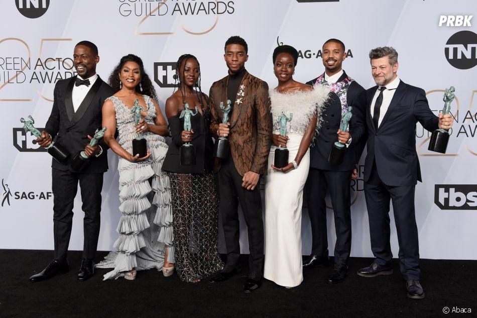 Les stars de Black Panther récompensés aux SAG Awards 2019