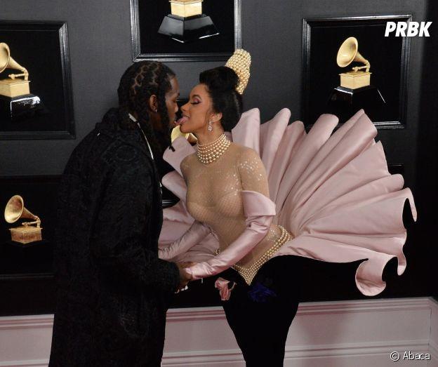 Cardi et Offset de nouveau en couple : ils officialisent aux Grammy Awards 2019