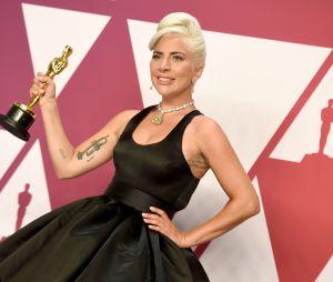 Lady Gaga gagnante aux Oscars 2019 le 24 février à Los Angeles