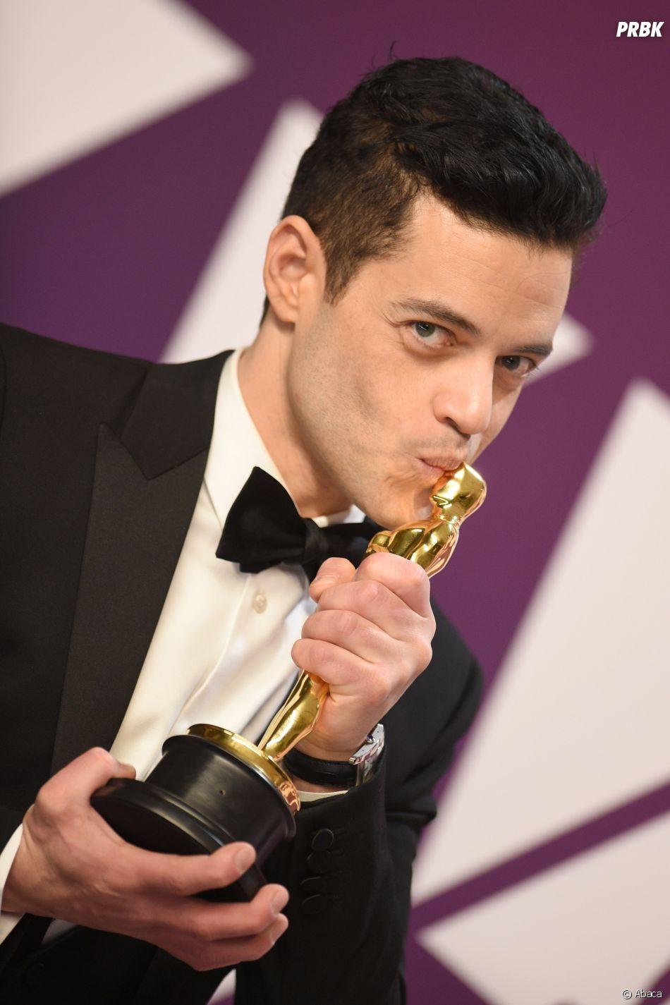 Rami Malek gagnant aux Oscars 2019 le 24 février à Los Angeles